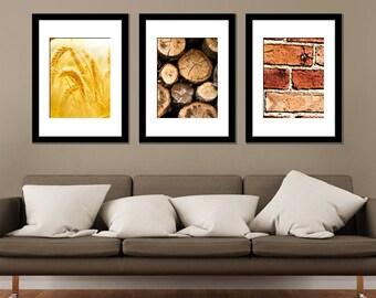 Catan Inspired Minimalist Prints Set of 3