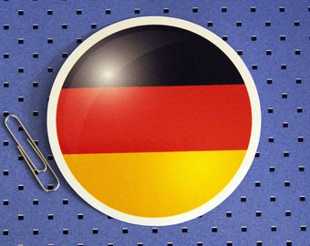 Germany Circle Flag Sticker