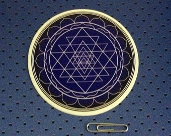 Sri Yantra - Sacred geometry Bumper Sticker