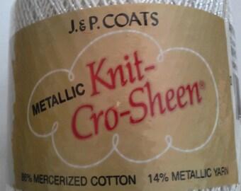 Metallic Knit- Cro-Sheen