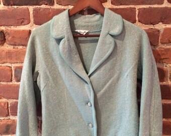 Women's seafoam vintage jacket