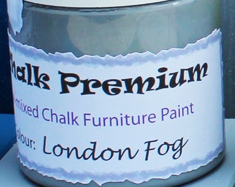 Chalk Furniture Paint 250ml - London Fog