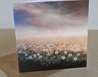 Whisper - Fine Art card - Trees - Woodland