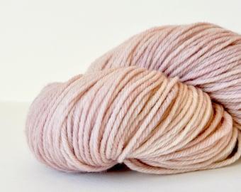 Hand Dyed Superwash Merino Sport Yarn-Lepidolite