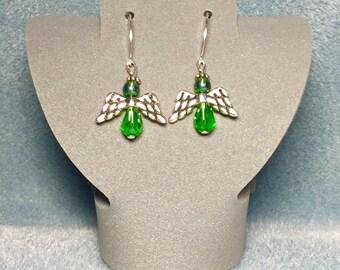 Angel Wings Hook Earrings