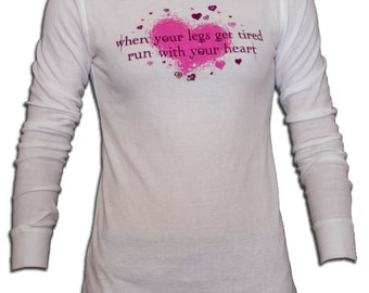 Run With Your Heart Long Sleeve Thermal