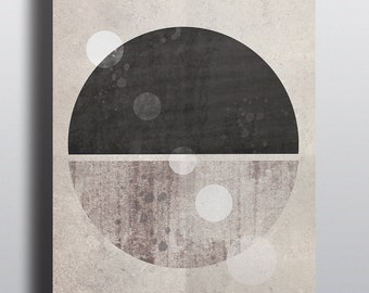 Abstract Art, Geometric Print, Minimalist Art, Scandinavian Print, Home and Living Print.