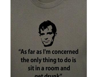 Jack Kerouac: As far as I'm concerned t-shirt by Comrade Apparel