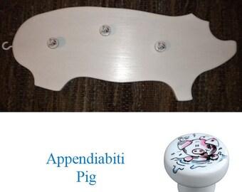 Childrens wall hanger Piggy