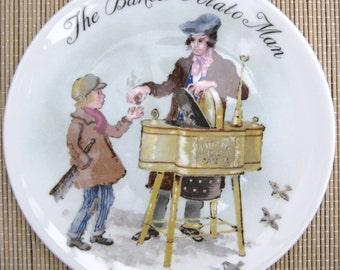 The Baked Potato Man by John Finnie vintage plate bradex