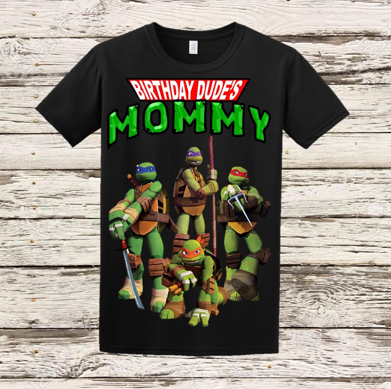 Ninja Turtles Mom Shirt Tmnt Mom Shirt