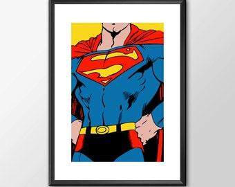 Superman - Classic Superhero Tribute  Buy 2 Get 1 Free