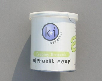 Creamy Broccoli Alphabet Soup by KI Memories