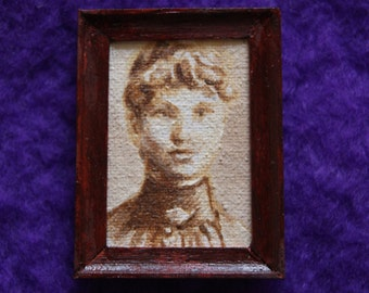 Miniature Woman's Portrait