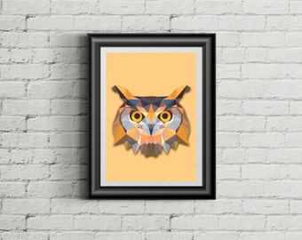 • The owl poster