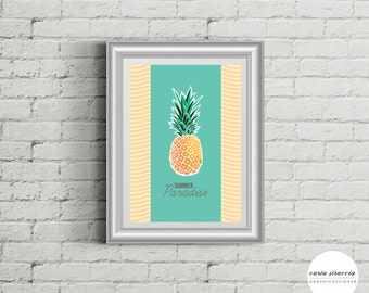 • Poster Pinapple • Summer Edition