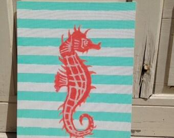 Starfish Handmade Original Painting - Acrylic on Canvas Board