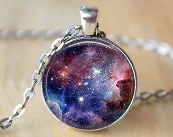 Carina Nebula Galaxy Necklace Carina Necklace Galaxy Jewelry Nebula Necklace Space Jewelry Universe Pendant Art Pendant Gift for Her