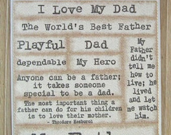 AMM - Twill Sayings - Father