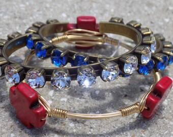 CRYSTAL CLEAR COLLECTION- Swarovski Cuff Bracelet