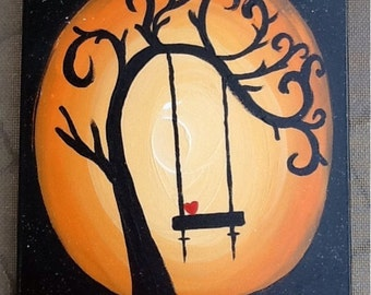 Acrylic painting handmade/