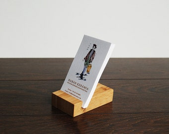 Wood Business Card Holder. Bamboo Business Card Stand. Wooden Card Holder. Bamboo Card Holder. Personalized Business Card Holder.