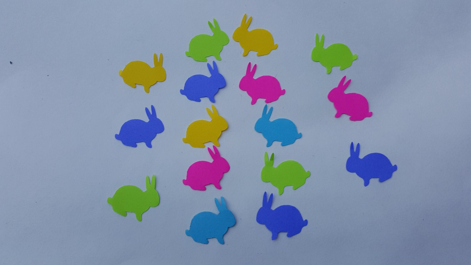 bunny confetti baby shower confetti animal themed party