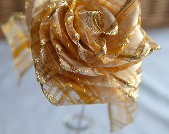 Handmade Ribbon Roses