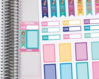 Planner Stickers Goal Setting