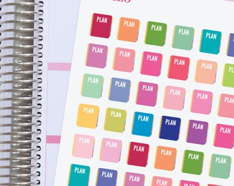 Planner Stickers Plan