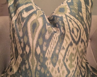 Ikat Euro Pillow Cover