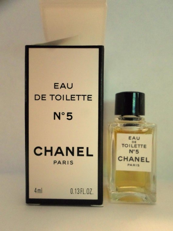 chanel no 5 eau de toilette 4 ml by laurelmountainshoppe