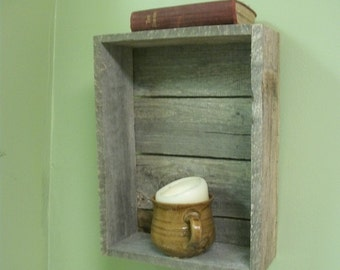 Re-purposed Wood Pallet Box