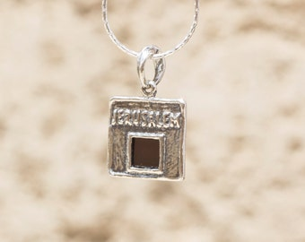 Jerusalem Nano Bible Pendant Necklace