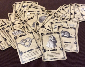 LEARNER DECK. Tea Cards. Oracle Cards. Fortune Telling Cards. Tea Reading Cards.