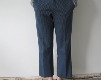 Vintage 1970s Ladies Checked Trousers