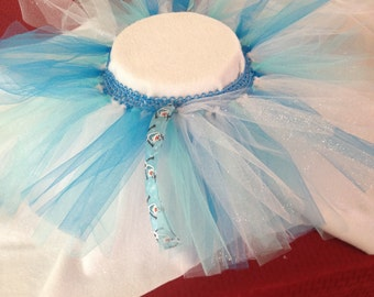 Frozen colored tutu