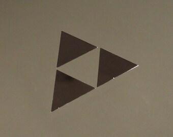 Zelda Triforce Label / Aufkleber / Sticker / Badge / Logo 26 x 35mm[259]