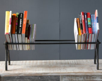 Industrial Vintage Book Rack