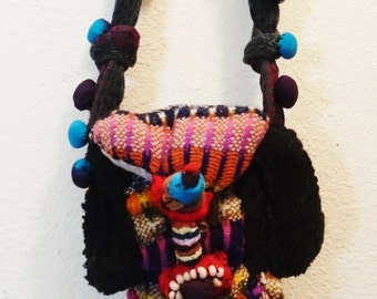 Cyclops Triclops Upcycled Recycled Monster Purse