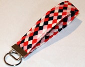 Cotton and Steel Cookie Book Geometric Key Fob