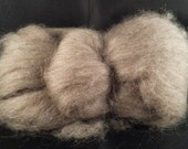 Yak combed top roving 100% to spin Light Brown luxury fiber 4 oz