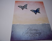 Happy Anniversary Card, Anniversary Card, Handmade Anniversary Card, Anniversary Card For Couple, Anniversary Greeting Card