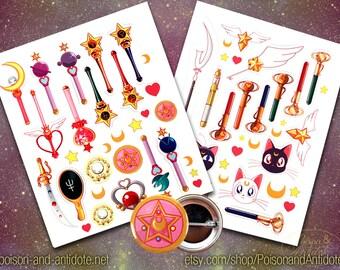 Sailor Sticker Pack
