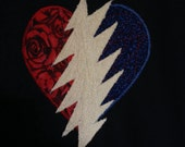 ReSeRVeD for SL... Steal Your Heart - Stole My Heart... Grateful Dead NWT -navy- tank Handmade