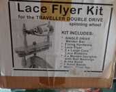 Ashford Lace Flyer Kit for Double Drive - for Older Traveller Models