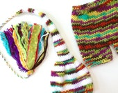 Newborn Boy Knit Outfit BaBY PHoTO PRoP RTS Stocking Hat Pant SET Tassel Beanie Shorts CoMiNG HoMe White Lime Aqua Purple Red Stripe Costume