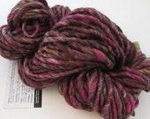 Handspun Yarn Smooth Super Bulky, Merino Firestar, 51 yards, 3.0 oz. - MYSTERY -  Wool Art Waldorf Doll Hair Knitting Weaving Crochet