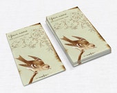 Business Cards  Custom Business Cards  Personalized Business Cards  Business Card Template  Vintage Business Cards  Bird Business Card V20