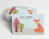 Business Cards  Custom Business Cards  Personalized Business Cards  Business Card Template  Modern Business Cards  Bird Business Card A1